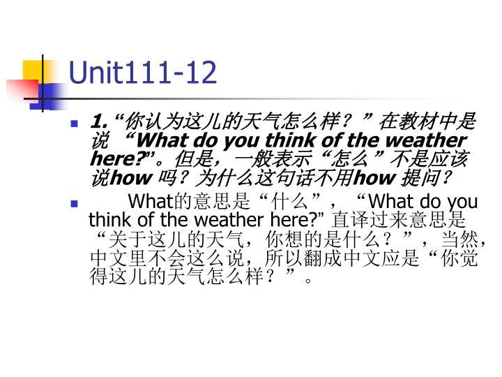 Unit111-12