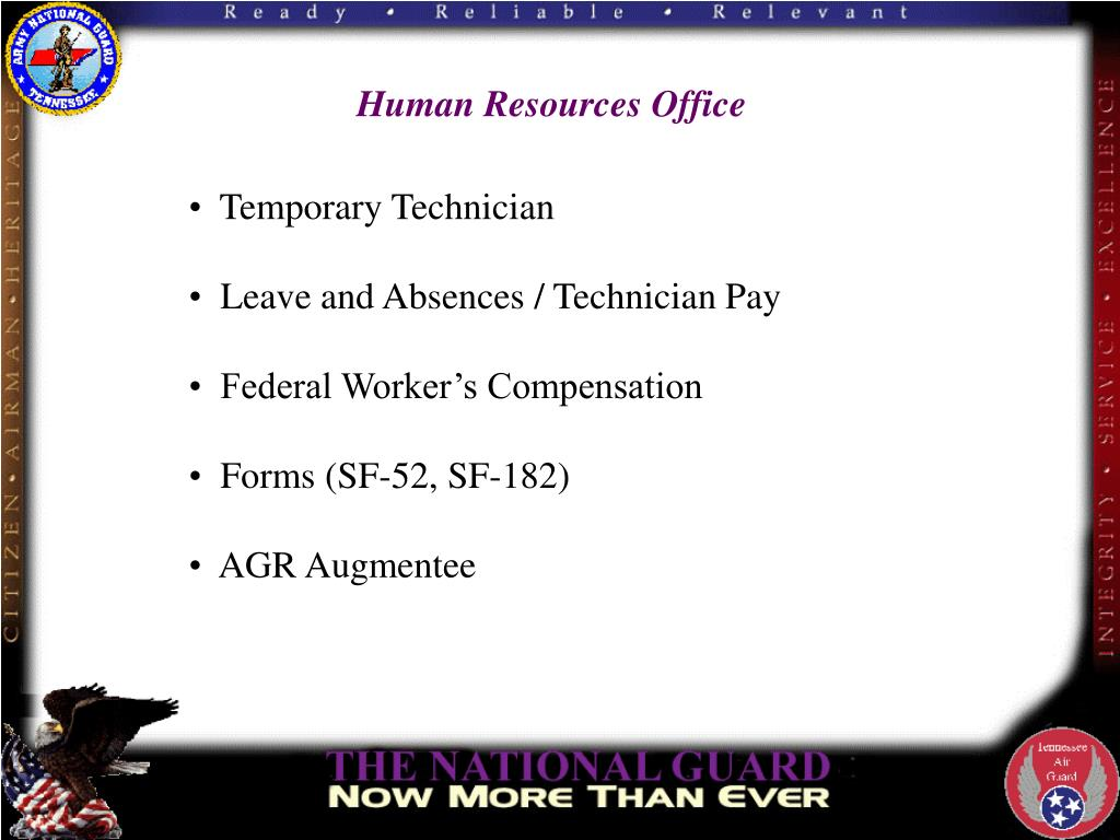 PPT - Tennessee National Guard Human Resources Office (HRO ...