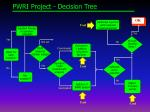 pwri project decision tree
