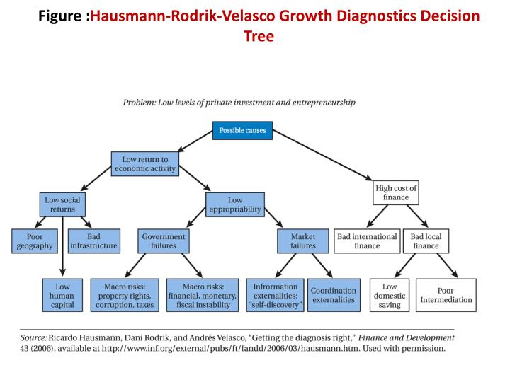 Figure hausmann rodrik velasco growth diagnostics decision tree