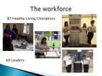 the workforce
