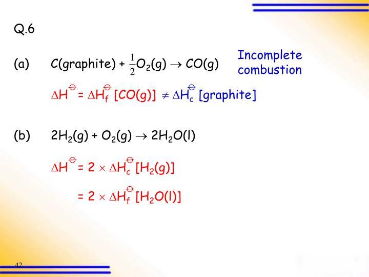 (a)C(graphite) +   O