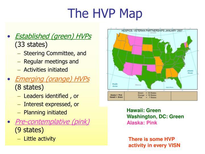 The hvp map