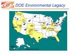 doe environmental legacy