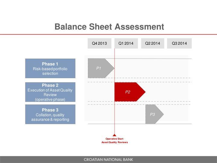 Balance Sheet Assessment