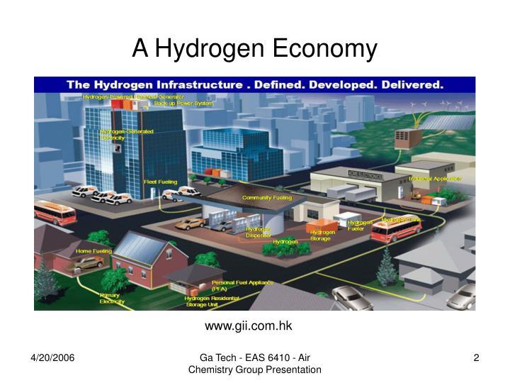 A hydrogen economy