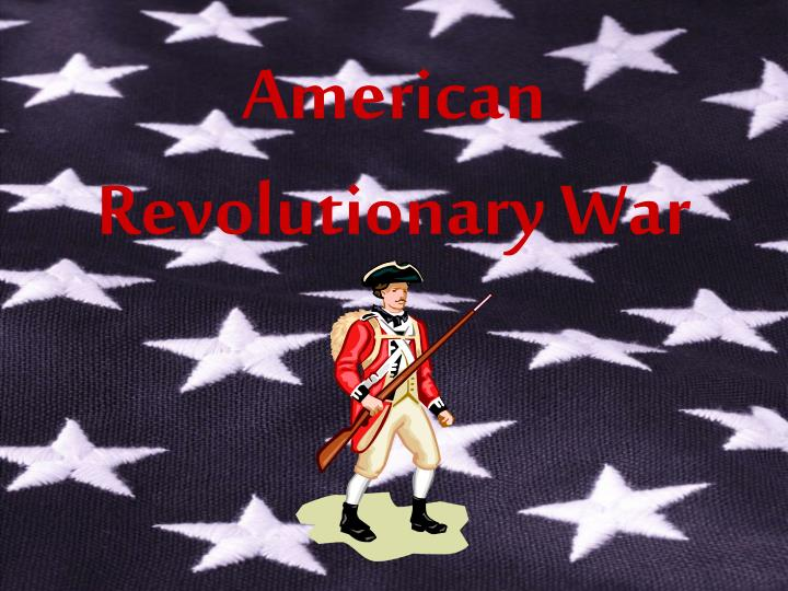 american revolutionary war n.