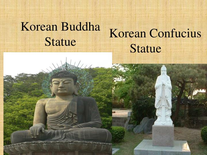 Korean Buddha Statue