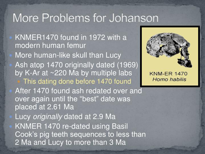 More Problems for Johanson