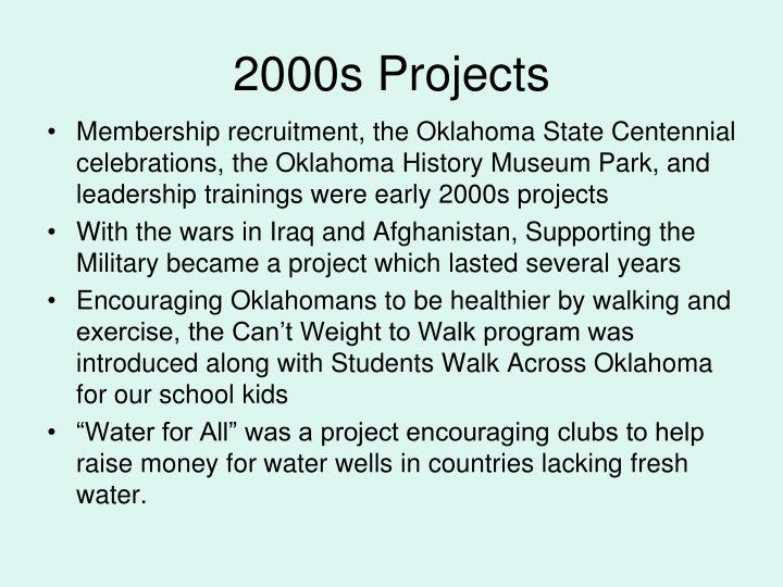 2000s Projects