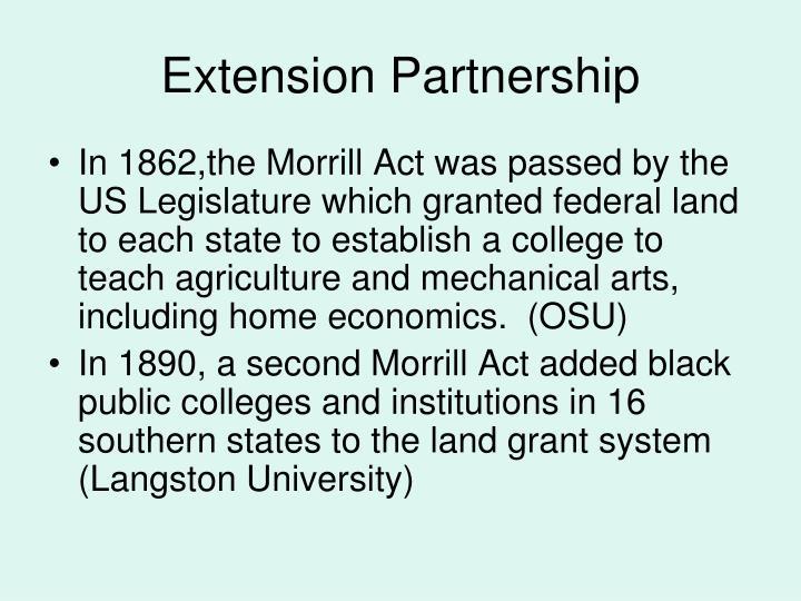 Extension Partnership