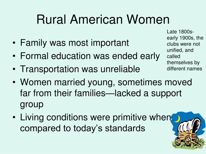 Rural american women
