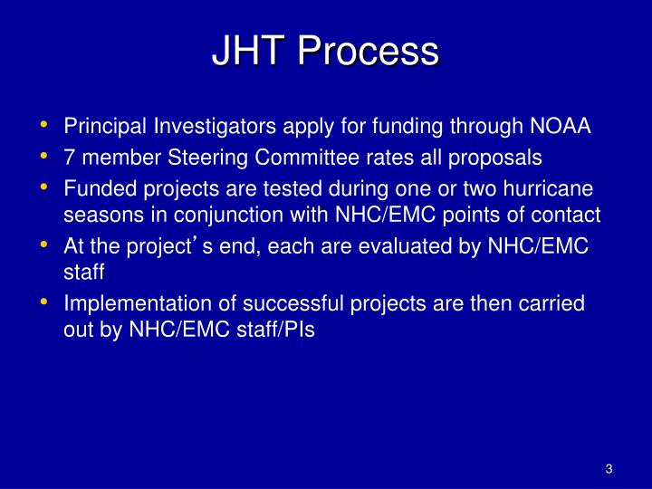 Jht process