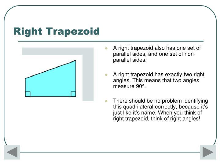 Right Trapezoid