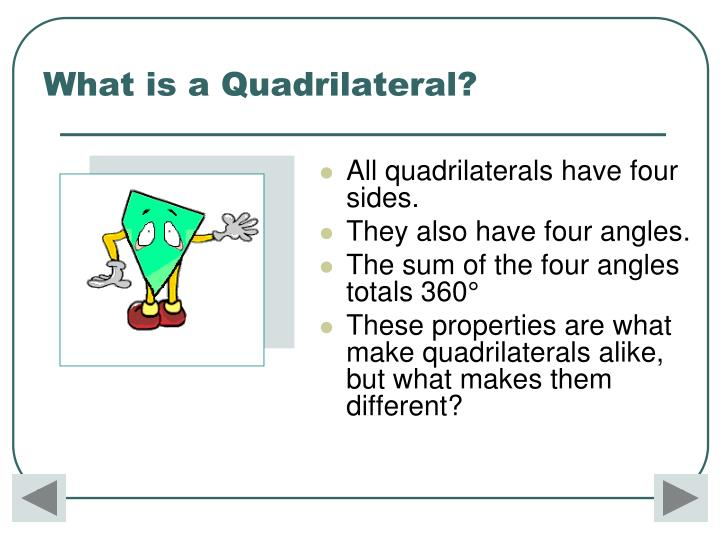 What is a Quadrilateral?