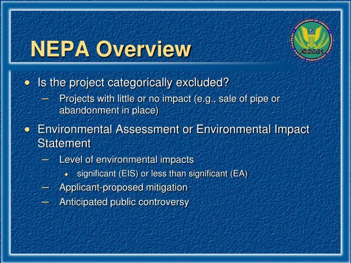 NEPA Overview