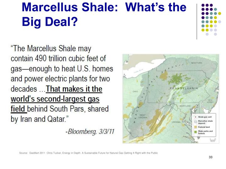 Marcellus Shale:  What's the Big Deal?