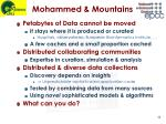mohammed mountains