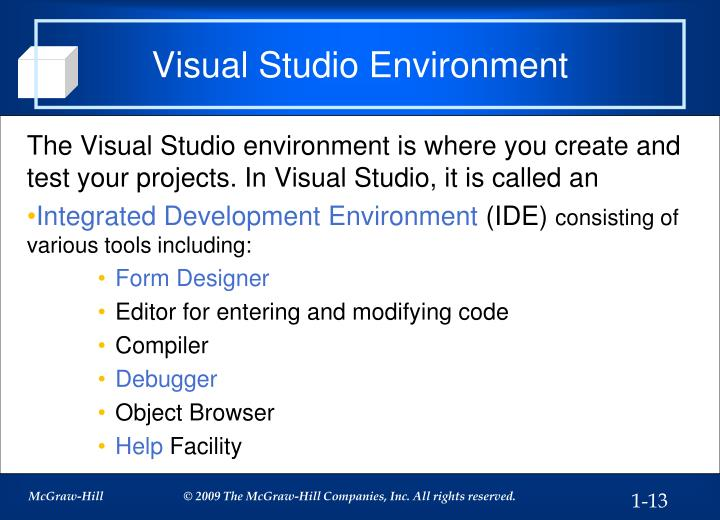 Visual Studio Environment