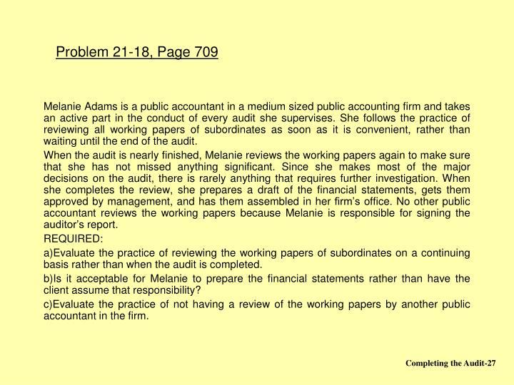 Problem 21-18, Page 709