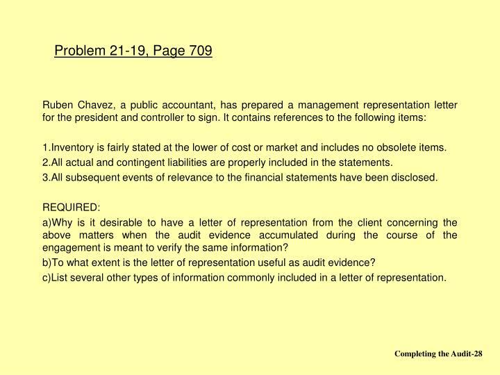 Problem 21-19, Page 709