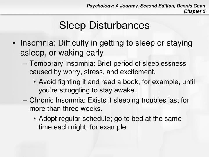 Sleep Disturbances
