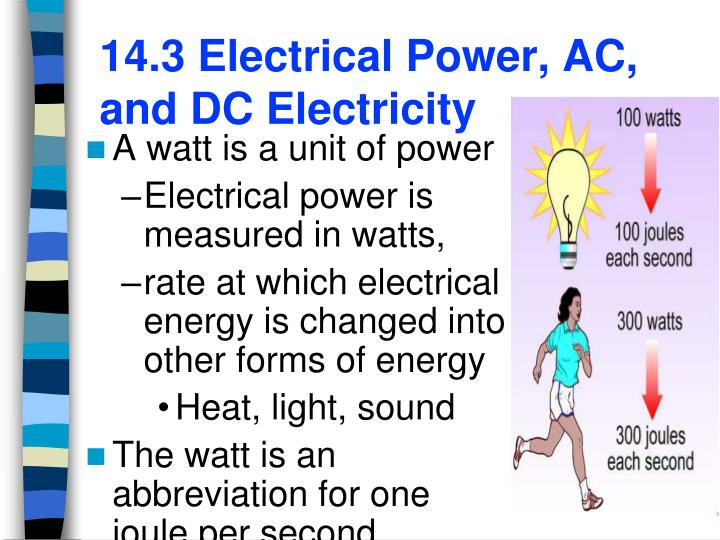 14 3 electrical power ac and dc electricity n.