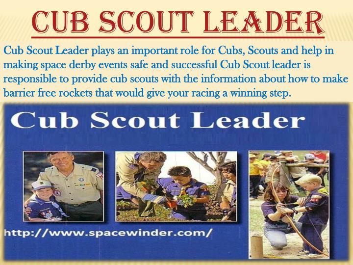 Cub Scout Leader