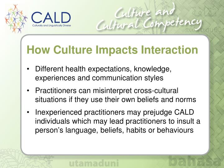 How Culture Impacts Interaction