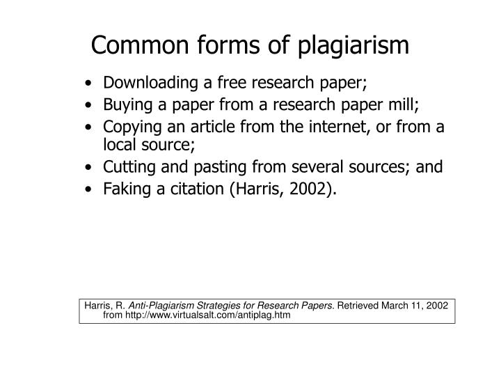 plagiarism paper mills Forget plagiarism: there's a new and bigger threat to academic integrity weeding out student essays from paper mills will require work by established academia and a renewed commitment to integrity.