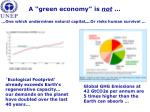 a green economy is not