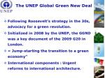 the unep global green new deal