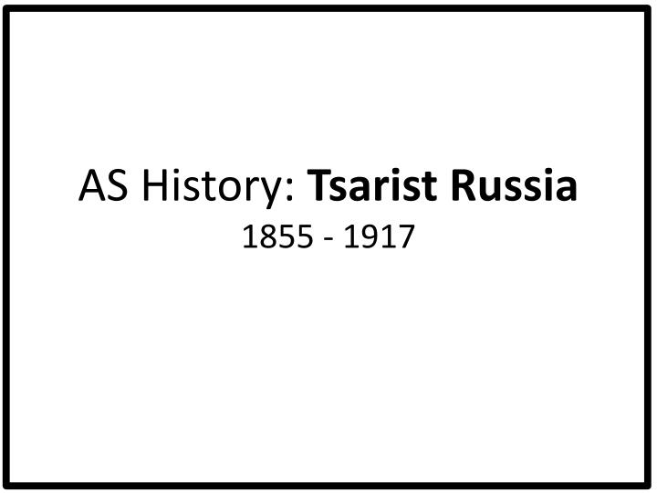 how succesful was the tsarist regime Success quotes by orlando figes the obstinate refusal of the tsarist regime to concede reforms turned what should have been a political problem into a.