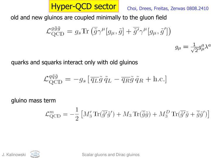 Hyper-QCD sector
