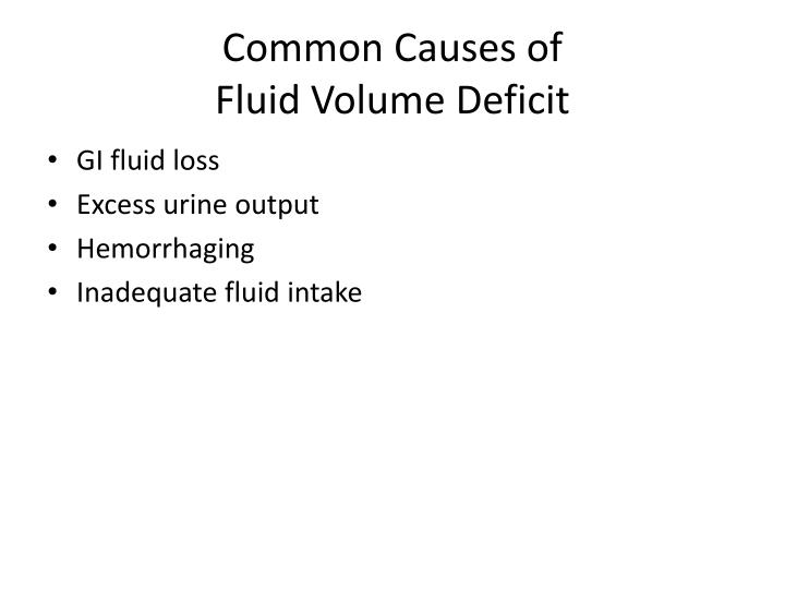 Common Causes of
