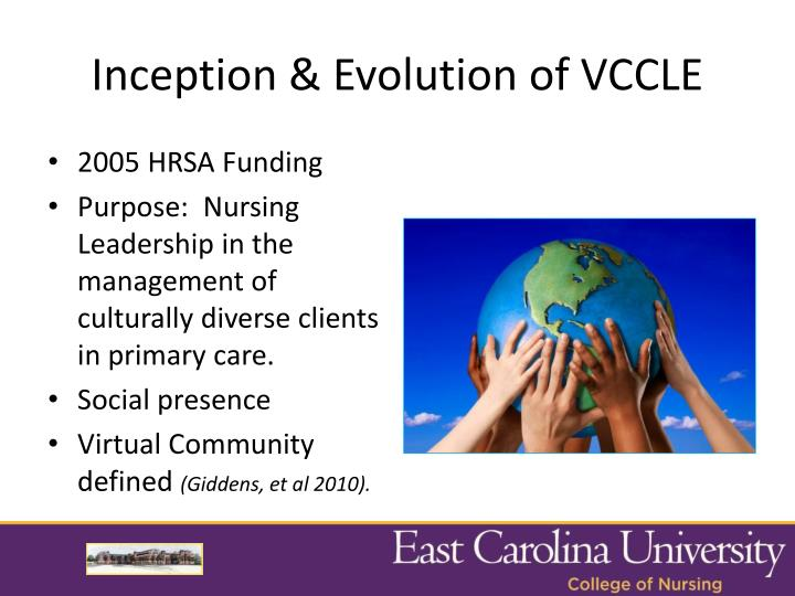 Inception & Evolution of VCCLE