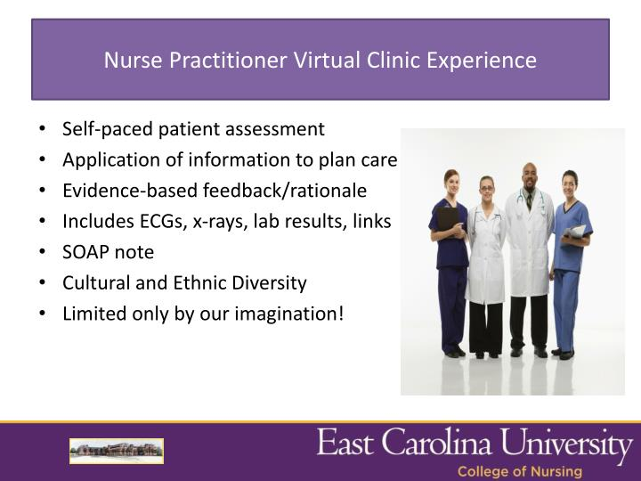 Nurse Practitioner Virtual Clinic Experience