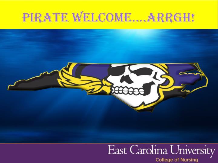 Pirate welcome arrgh