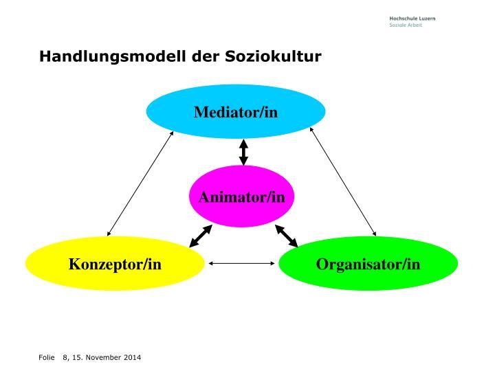 Handlungsmodell der Soziokultur