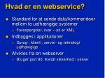 hvad er en webservice