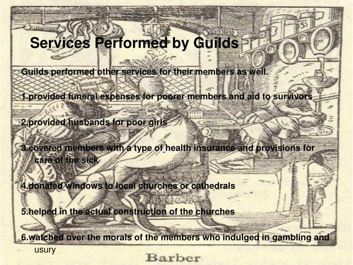 PPT - Medieval Guilds PowerPoint Presentation - ID:6640083