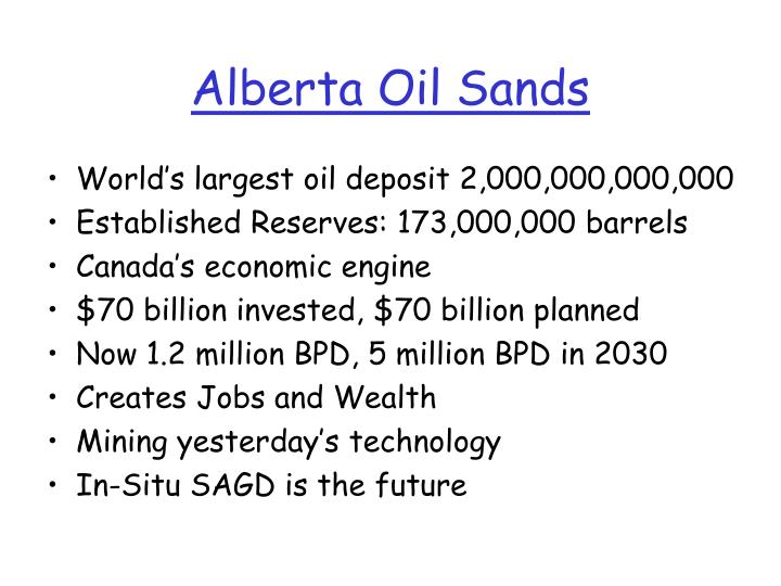alberta oil sands essay example Podlubny, joey alberta's oil sands: opportunity balance alberta tar sands issues the (2013  essay writing tutorials.