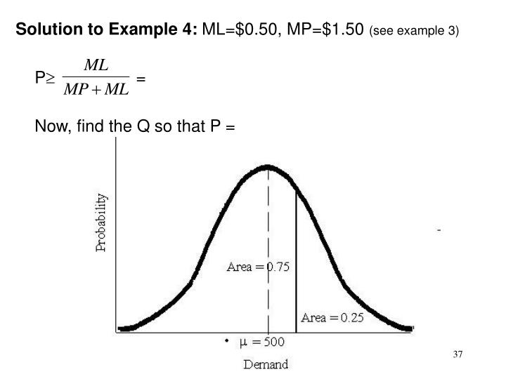 Solution to Example 4: