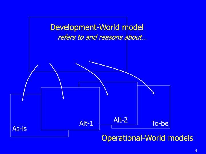 Development-World model