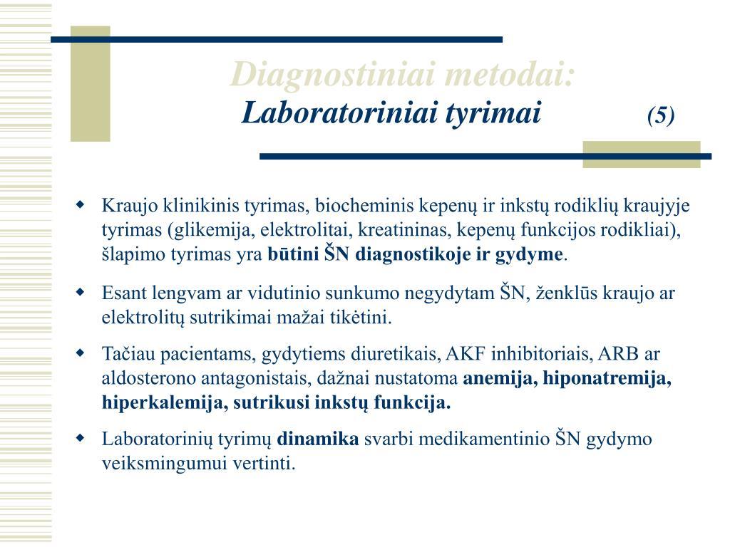 hipertenzija ir hiperkalemija)