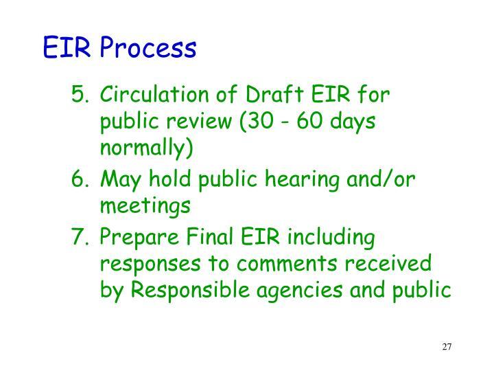 EIR Process