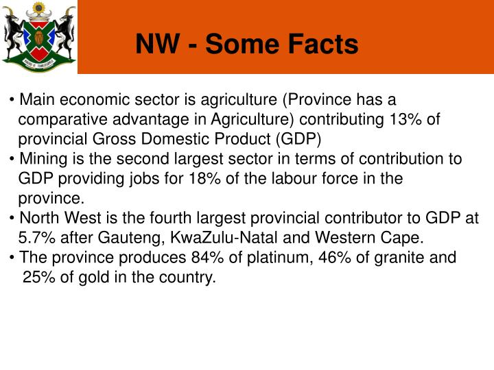 NW - Some Facts