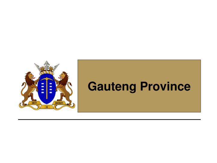 Gauteng Province