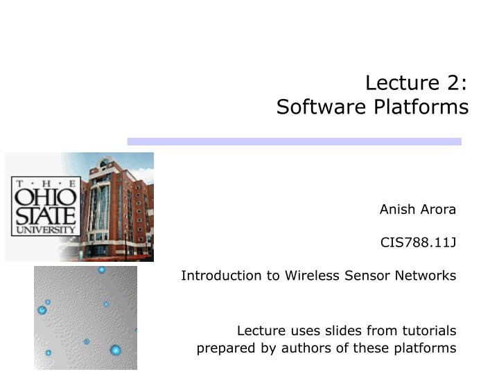 lecture 2 software platforms n.