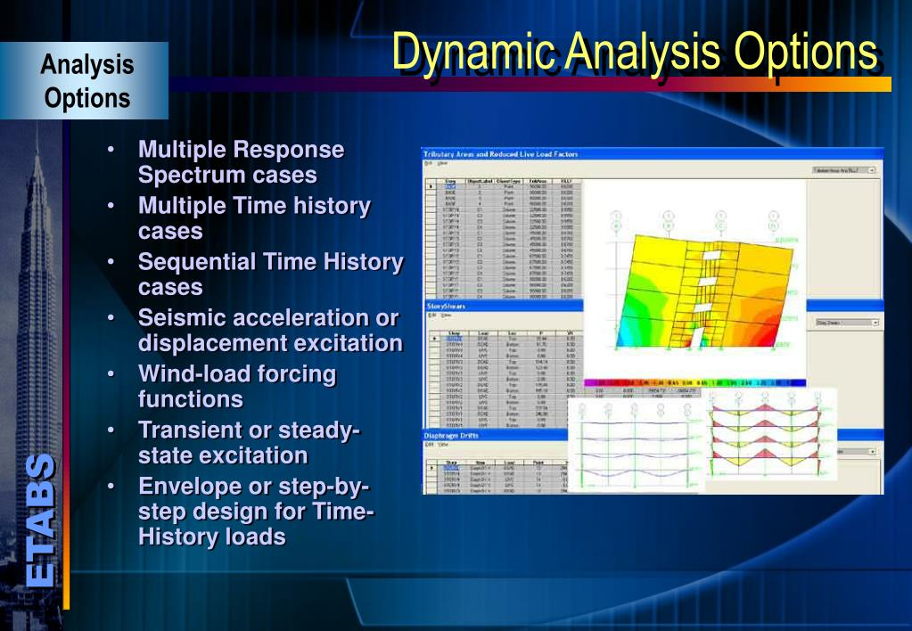 PPT - Three Dimensional Static and Dynamic Analysis and Design of